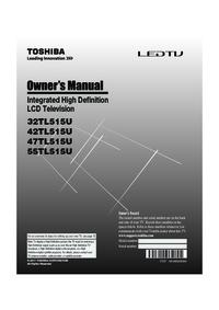 Toshiba 32TL515U 42TL515U 47TL515U Manual - usermanual com