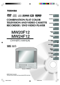 Toshiba MW20F12 MW24F12 Manual - usermanual com