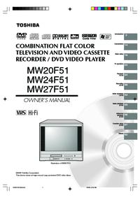 Toshiba MW20F51 MW24F51 MW27F51 Manual - usermanual com