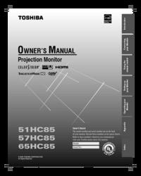 toshiba 51hc85 57hc85 65hc85 manual usermanual com rh usermanual com