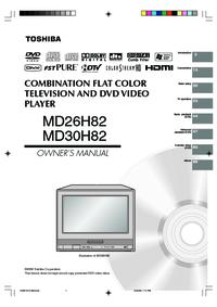 Toshiba MD26H82 MD30H82 Manual - usermanual com