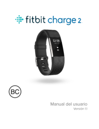 ajuste manual hora reloj pulsera fitbit