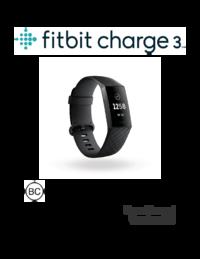 Fitbit Charge 3 Manual - usermanual com