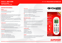 Télécommande Climatisation SUPERIOR AIRCO AIRCOPLUS